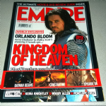 Empire Magazine April  2005 Orlando Bloom Kingdom of Heaven